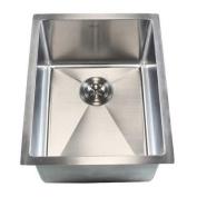 eModern Decor Ariel 41cm x 50cm Single Bowl Undermount Kitchen Sink