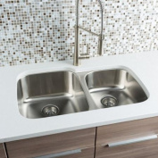 Hahn Classic Chef Series 80cm x 50cm 60/40 Double Bowl Kitchen Sink