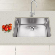 Hahn Chef Series 80cm x 46cm Single Bowl Kitchen Sink