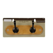 20cm - 1.9cm Bamboo Hook Board with Bronze Hooks