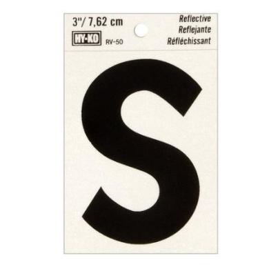7.6cm Letter S