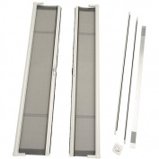 ODL Brisa Short Double Door Single Pack Retractable Screen for 200cm In-Swing or Out-Swing Doors, White