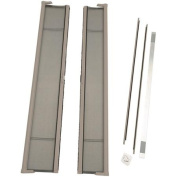 ODL Brisa Tall Double Door Single Pack Retractable Screen for 240cm In-Swing or Out-Swing Doors, Sandstone