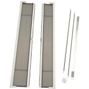 ODL Brisa Tall Double Door Single Pack Retractable Screen for 240cm In-Swing or Out-Swing Doors, White