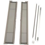 ODL Brisa Short Double Door Single Pack Retractable Screen for 200cm In-Swing or Out-Swing Doors, Sandstone
