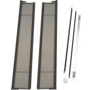 ODL Brisa Tall Double Door Single Pack Retractable Screen for 240cm In-Swing or Out-Swing Doors, Bronze