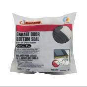 THERMWELL Garage Door Bottom Weatherseal for Wooden Doors, Black, 2.7m