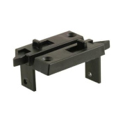 PRIME LINE PRODUCTS Black Spring-Loaded Vinyl Tilt Latch