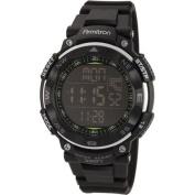 Armitron Men's Digital Sport Watch, Black, Resin Strap