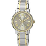 Armitron Men's Dial Watch, Grey, Two-Tone Stainless Steel Bracelet
