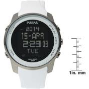 Pulsar Men's Stainless Steel Digital Watch