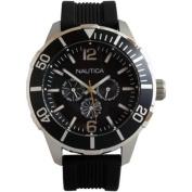 Nautica Luminous Water Resistant Analogue Sports Watch - Black - N14623G
