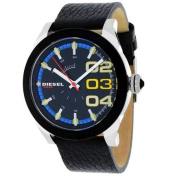 Diesel Men's Double down Watch Quartz Mineral Crystal DZ1677