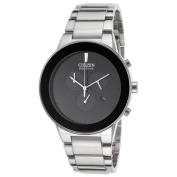 Citizen Men's Axiom Chronograph Stainless Steel Black Dial