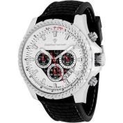 Christian Van Sant Men's Sport Retrograde Watch Quartz Mineral Crystal CV5122