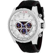 Christian Van Sant Men's Sport Retrograde Watch Quartz Mineral Crystal CV5120