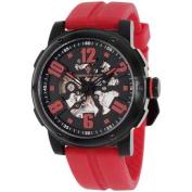 Christian Van Sant Men's Skeleton Watch Automatic Mineral Crystal CV6132