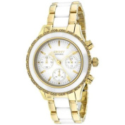 DKNY Women's Chambers Watch Quartz Mineral Crystal NY8830