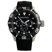 Nautica Analogue Water Resistant South Beach Sports Watch - Black - N13643G