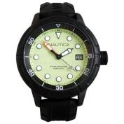 Nautica Luminous Water Resistant Analogue Sports Watch - Black/Green - N17618G