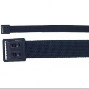 +110cm Web Belt-Black Open Face Buckle BLK