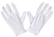 Meta-U Wholesale White Soft 100% Cotton Work/Lining Glove