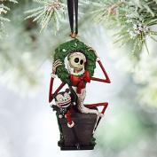 Disney 2015 Sketchbook Jack Skellington and Vampire Teddy Sketchbook Ornament Holiday Tree