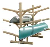 Log Kayak Rack 6-place