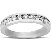Sterling Silver 3/4ct Diamond Band