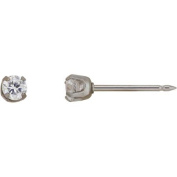 Home Ear Piercing Kit with Stainless Steel 3mm CZ Earring