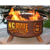 Patina Products Collegiate Series Steel Wood Burning Fire pit