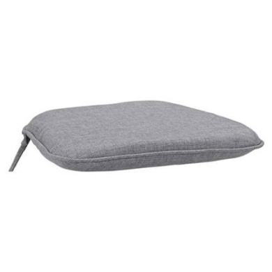 Home Styles Largo Polyester Seat Cushion, Grey Fabric
