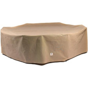 Duck Covers Essential 280cm Rectangle/Oval Patio Table with Chairs Cover