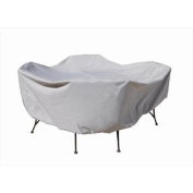 SimplyShade 120cm Round Table & Chairs Cover Grey