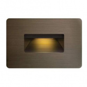 Hinkley Lighting 15508MZ Step Lighting Luna Outdoor Lighting ;Matte Bronze