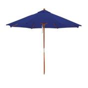 Deluxe Market Umbrella in Navy Blue