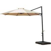 Hanover Outdoor Furniture Cantilever Patio Umbrella, Tan