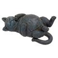 Design Toscano Playful Cat on Back Statue