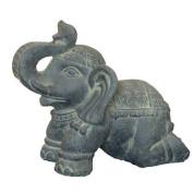 Hi-Line Gift Ltd. Elephant Kneeling Statue