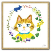 Cat's Friends GreenGift Notes, Eco-Friendly Mini Gift Notes and Envelopes for All Occasions