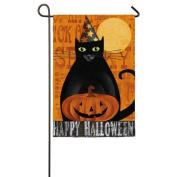 Evergreen Flag & Garden Halloween Night Garden Flag