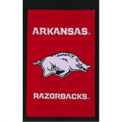 Arkansas Razorbacks Official NCAA 70cm x 110cm Applique House Flag by Evergreen