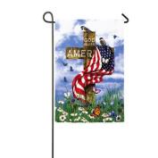 Evergreen Flag & Garden The Patriots Garden Flag