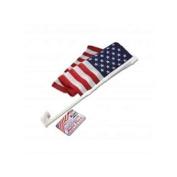 Patriotic Auto Flag - Set of 24