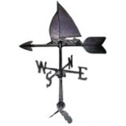Montague Metal Products WV-171 100 Series 60cm Sailboat Weathervane