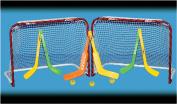 EZ Goal Double Mini Hockey Goal