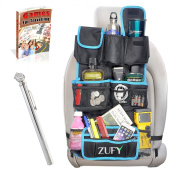 Backseat Organiser with a FREE Pencil Tyre Pressure Gauge and an Ebook for Back of Seat Car Storage Organiser.