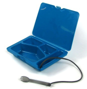 ZoomKIT Turquoise ZoomSNACK Bento Style Lunchbox Insert