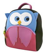 Dabbawalla Bags Preschool Toddler Backpack, Hoot Owl
