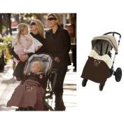Stroller Warm Blanket Cover, Classic 4-in-1 Convertible Baby Blanket ~ Car Seat ~ Stroller Blanket ~ Baby Carrier Blanket ~ Playtime Blanket